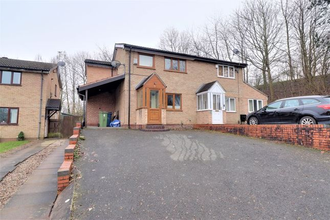 3 bed semi-detached house for sale in Lincoln Meadow, Western Downs, Stafford ST17