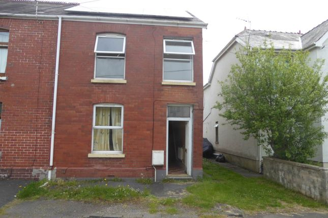Thumbnail End terrace house to rent in Pantyffynnon Road, Ammanford