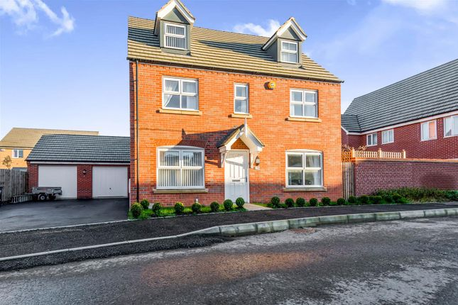 Thumbnail Detached house for sale in Carr Road, Moulton, Northampton