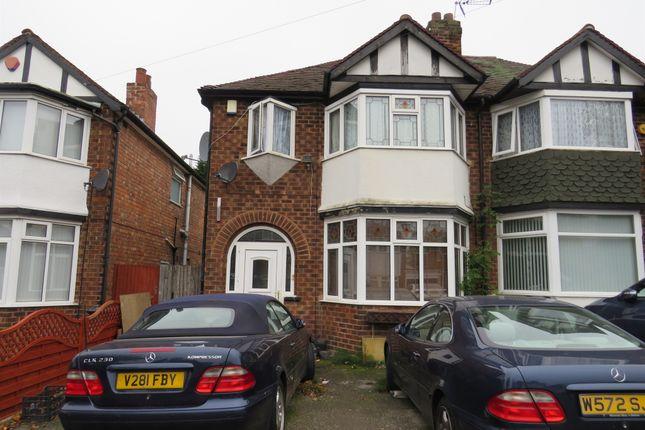 Thumbnail Semi-detached house for sale in Elmbridge Road, Perry Barr, Birmingham