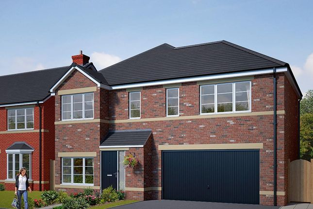 "Thumbnail Detached house for sale in ""The Westbury"" at Browney Lane, Browney, Durham"