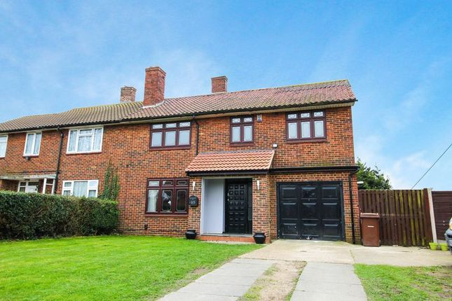 Thumbnail Semi-detached house for sale in Gatehope Drive, South Ockendon