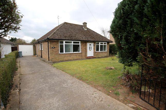 Thumbnail Bungalow to rent in Exeter Gardens, Stamford