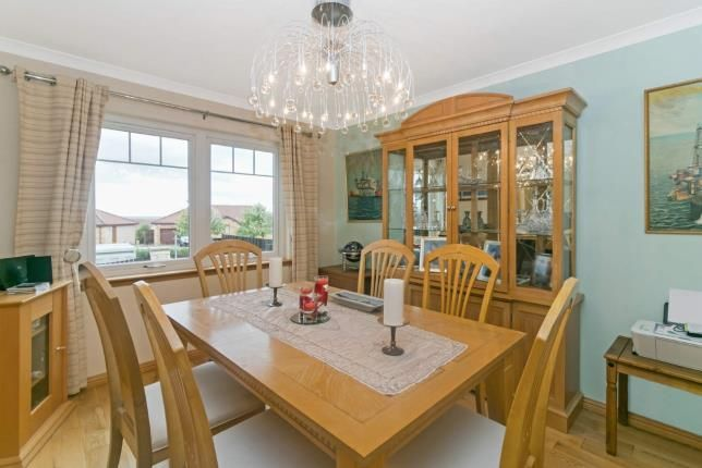 Dining Room of River View, Kirkcaldy, Fife, Scotland KY1
