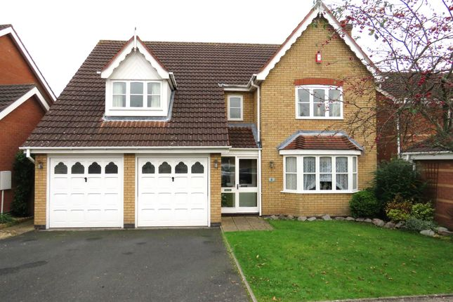 Thumbnail Detached house for sale in Fairford Close, Shirley, Solihull