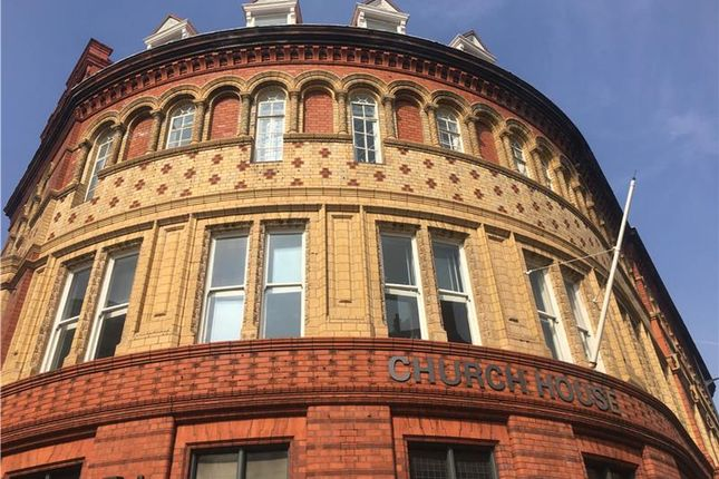 Thumbnail Office to let in Church House, 1, Hanover Street, Liverpool, Merseyside, United Kingdom