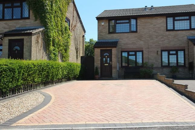 Thumbnail Semi-detached house for sale in Churchfields, Barry