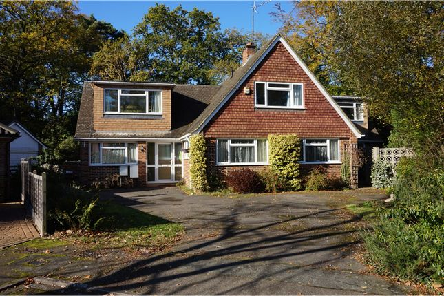 Thumbnail Detached house for sale in Briar Close, West Byfleet