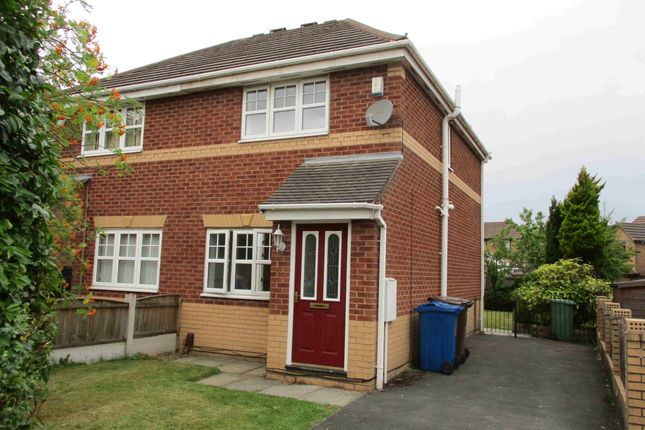 Thumbnail Semi-detached house to rent in Dunlin Grove, Leigh, Manchester, Greater Manchester