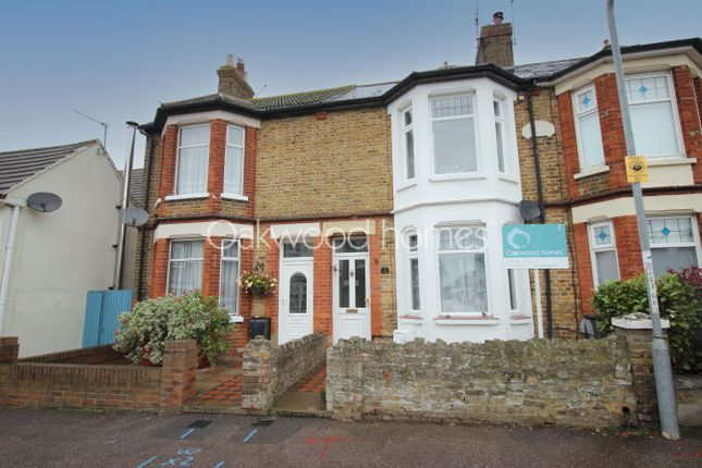 Thumbnail Terraced house for sale in Augustine Road, Minster, Ramsgate