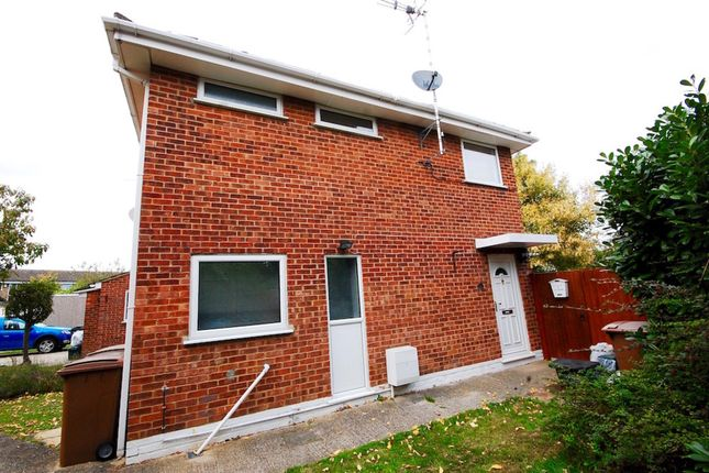 Thumbnail End terrace house for sale in Begonia Close, Springfield, Chelmsford