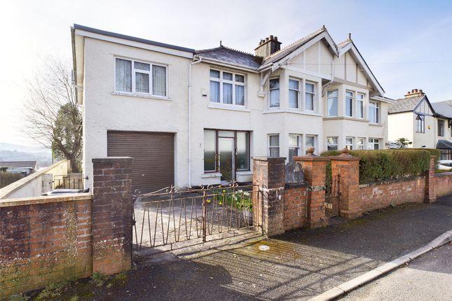 Thumbnail Semi-detached house for sale in Pentwyn Villas, Merthyr Tydfil