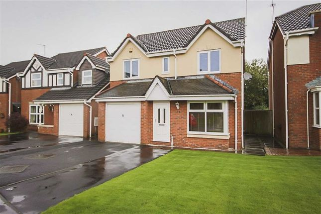 Thumbnail Detached house for sale in Hawthorn Gardens, Clayton Le Moors, Lancashire