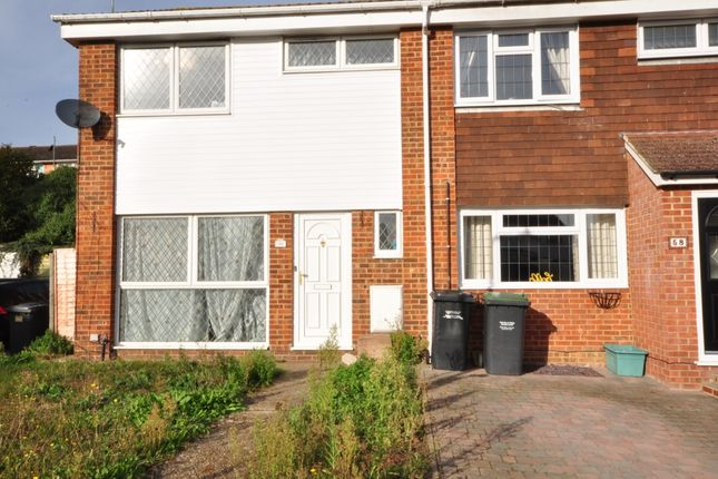 Thumbnail End terrace house to rent in Simpson Road, Snodland