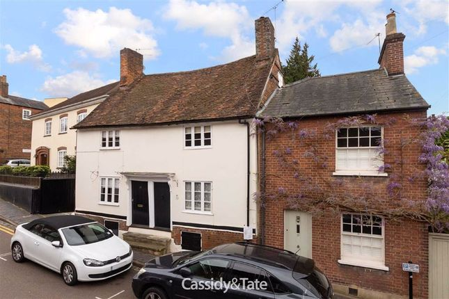 Thumbnail End terrace house for sale in Lower Dagnall Street, St Albans, Hertfordshire