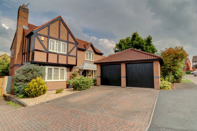 Thumbnail Detached house for sale in Tay Avenue, St Peters, Worcester