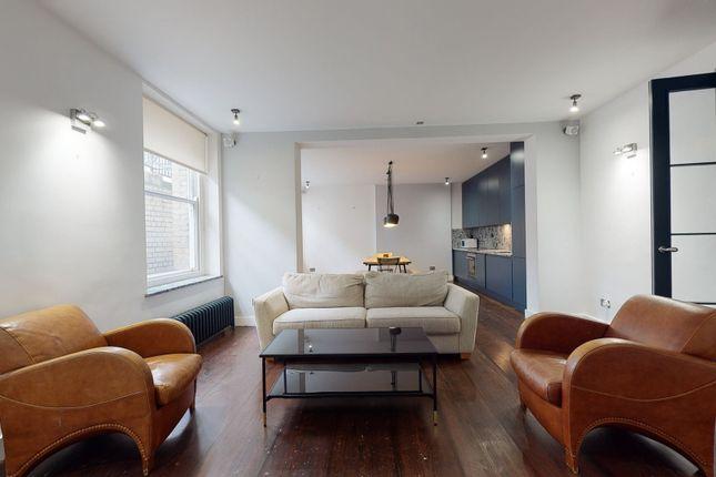Thumbnail Flat to rent in Brunswick Place, London