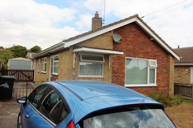 Thumbnail Detached bungalow to rent in Meadow Way, Carlton Colville