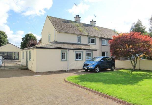 Thumbnail Semi-detached house for sale in Castlegate Drive, Cockermouth, Cumbria