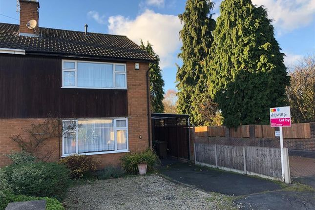 Thumbnail Semi-detached house to rent in Domar Road, Kidderminster