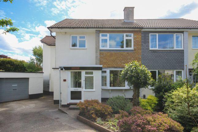 Thumbnail Semi-detached house for sale in Farne Close, Henleaze, Bristol