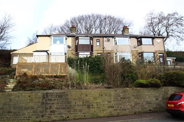 Thumbnail Terraced house for sale in Overdale, Friendly, Halifax