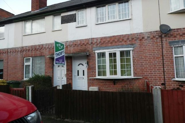 Thumbnail Terraced house to rent in Park Road, Blaby, Leicester