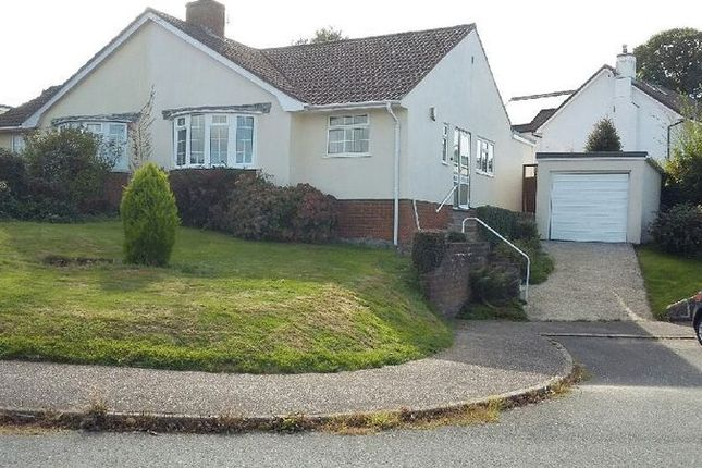 Thumbnail Semi-detached bungalow to rent in Burnards Field Road, Colyton