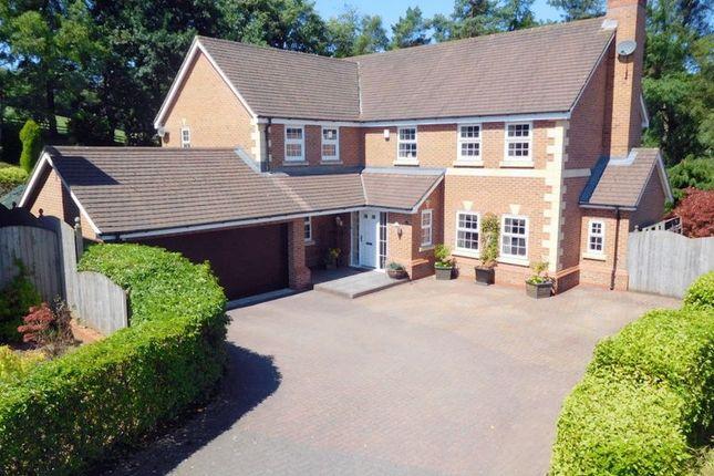 Thumbnail Detached house for sale in Jenner Grove, Blythe Bridge, Stoke-On-Trent