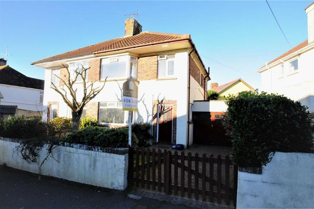 Thumbnail Semi-detached house for sale in Summerleaze Ave, Bude, Cornwall