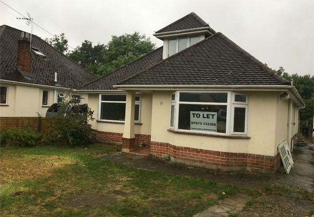 Thumbnail Detached bungalow to rent in Whitehayes Road, Burton, Christchurch