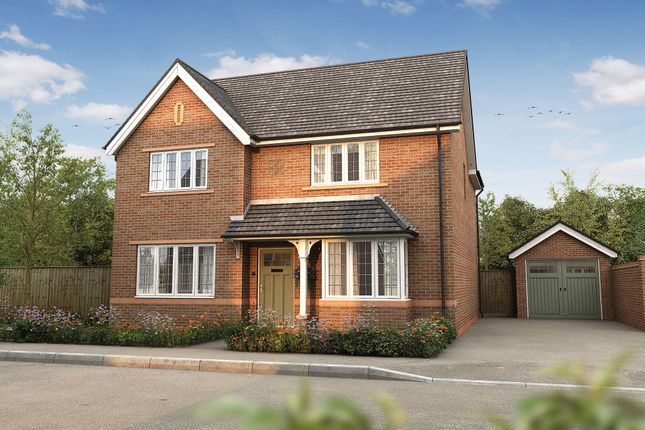 "Thumbnail Detached house for sale in ""The Shirley"" at Heath Lane, Lowton, Warrington"