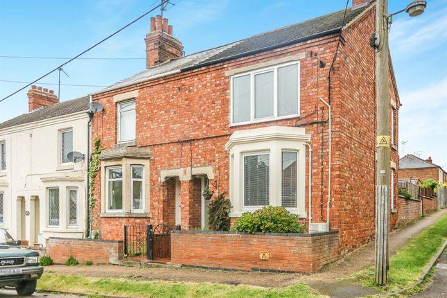 Thumbnail End terrace house for sale in Spencer Street, Ringstead, Kettering