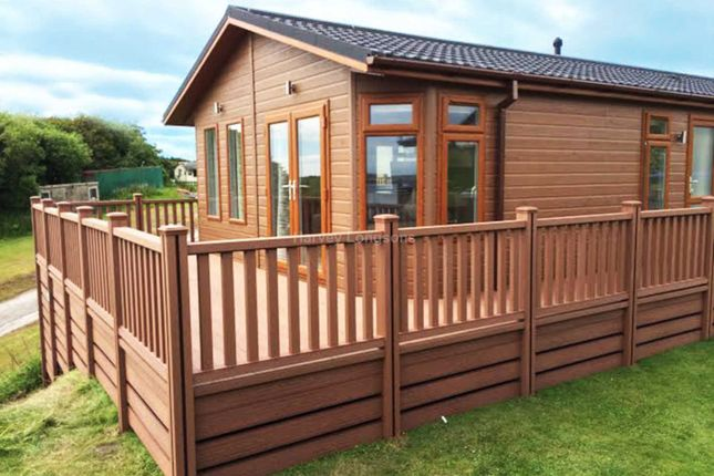 Thumbnail Lodge for sale in Steel Green, Millom