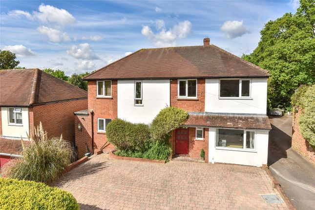 Thumbnail Detached house for sale in Warren Rise, Frimley, Camberley, Surrey