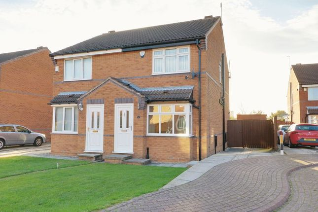 Thumbnail Semi-detached house for sale in Cawthorne Drive, Hull