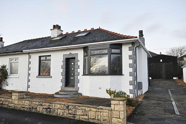 Thumbnail Semi-detached bungalow for sale in Glenapp Quadrant, Kilmarnock, East Ayrshire