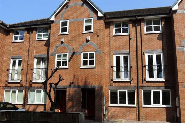 Thumbnail Town house for sale in Bridgelea Road, Withington, Manchester