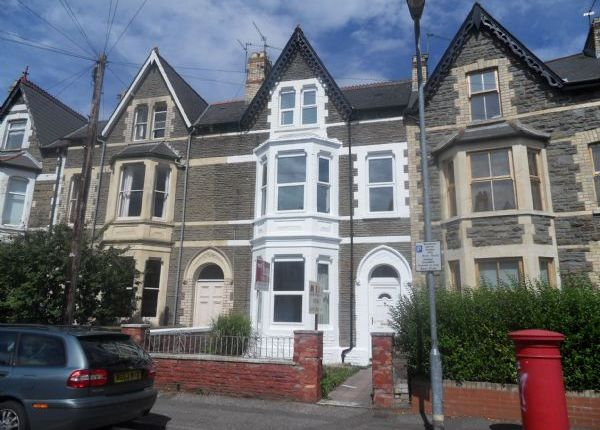 Thumbnail Terraced house to rent in Kings Road, Pontcanna, Cardiff