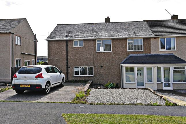 Thumbnail Semi-detached house for sale in 52 Santon Way, Seascale, Cumbria