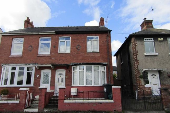 Thumbnail Semi-detached house for sale in Howard Street, Connah's Quay, Flintshire