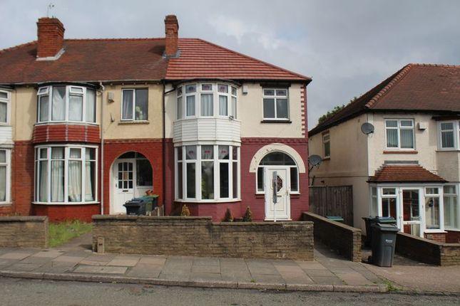 3 bed semi-detached house to rent in Hagley Road West, Quinton, Birmingham