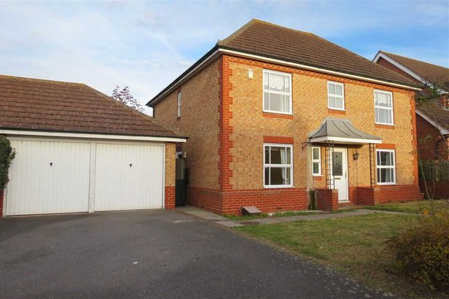 Thumbnail Detached house for sale in Hermes Way, Sleaford