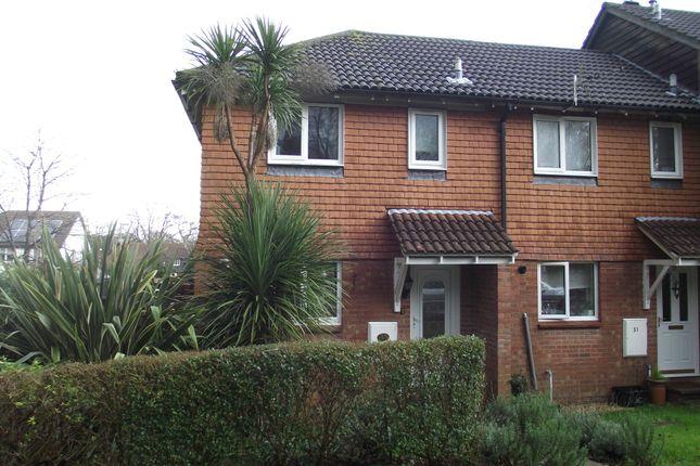 Thumbnail End terrace house to rent in Kensington Fields, Dibden Purlieu