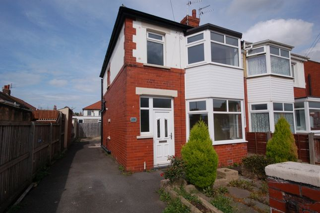 Thumbnail Semi-detached house to rent in Collyhurst Avenue, Blackpool