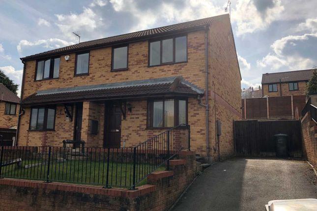 Thumbnail Semi-detached house to rent in Heaton Grange, Batley