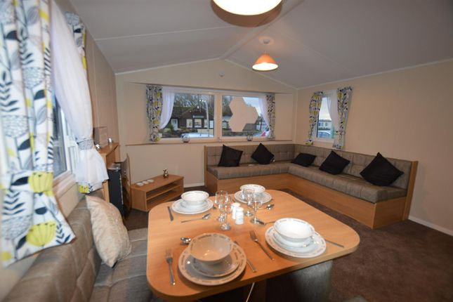 Thumbnail Mobile/park home for sale in Chichester Lakeside Holiday Park, V, Runcton, Chichester