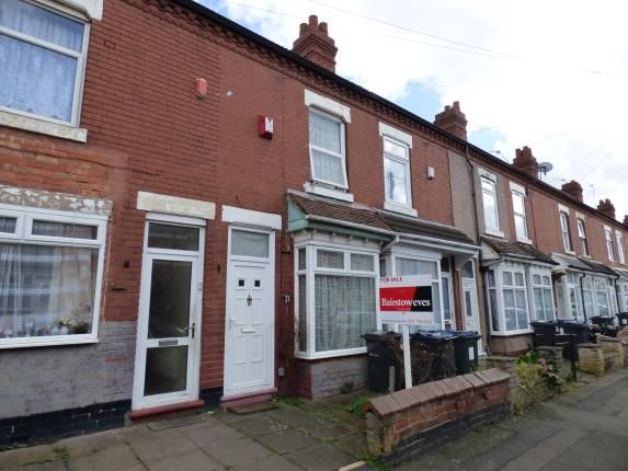 3 bed terraced house for sale in Solihull Road, Sparkhill, Birmingham, West Midlands