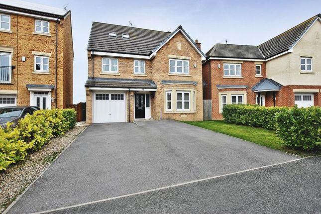 Thumbnail Detached house for sale in Sandringham Meadows, Blyth