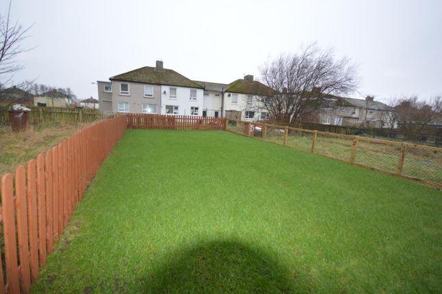 Rear Garden of Fleswick Avenue, Whitehaven, Cumbria CA28